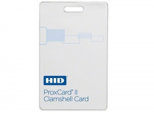 CARD 125KHZ PROXCARD II - CLAMSHELL