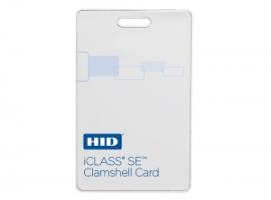 CARD 13.56MHZ ICLASS SE 2K - CLAMSHELL